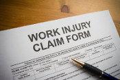 worker's compensation lawyer. Work injury claim form