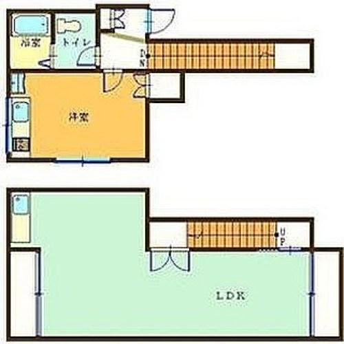 どうなってるんだろう?って思ったら、大きな地下室がある家でした。使い方が難しいな〜#間取り#間取り図 #今日の一枚 #間取り狂 #間取り図ナイト #間取り図鑑定士 #間取り図好き