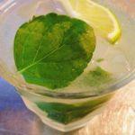 時は満ちた。暑い日の終わりに飲む一杯イエルバブエナの初モヒート!穏やかなオトナの味飲み比べもしてみたけれど、スペアミントのそれとは結構違うんだなぁ〜うまい^_^#ホンモノ#モヒート#飲みたくて#イエルバブエナ#ハバナクラブ#初挑戦#ミッション#完結