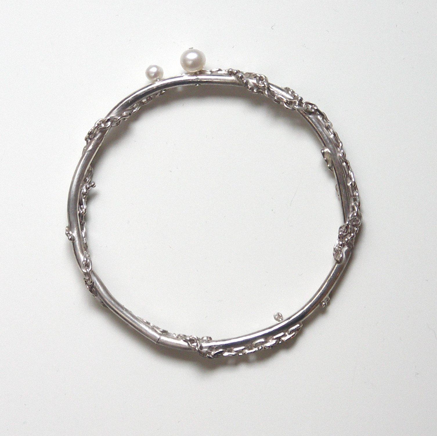 TCB-Tangled chain bangle