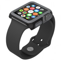 Carcasa Apple Watch 38mm CandyShell Fit Black/Slate Grey