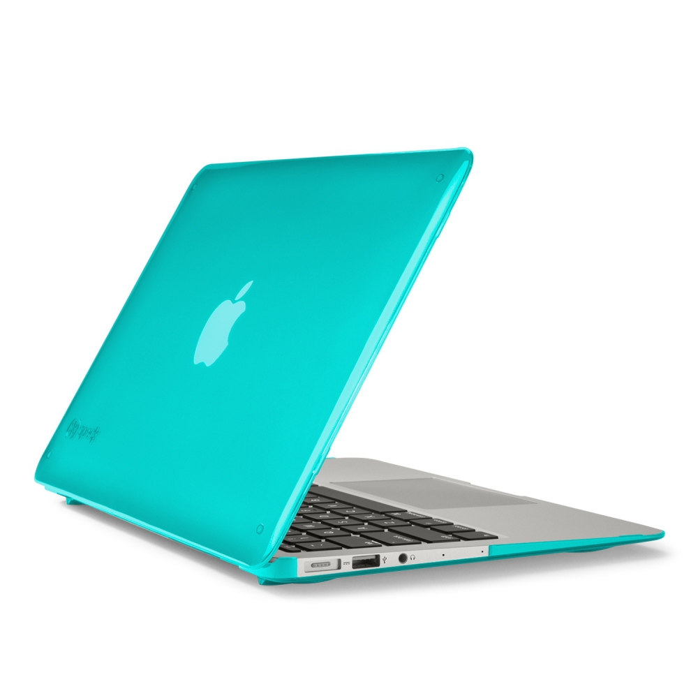 "Husa MacBook Air 13"" SeeThru Albastru Calypso"