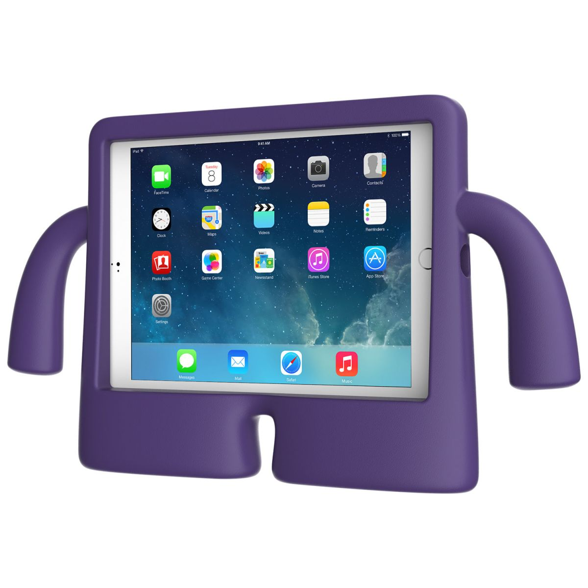 Carcasa iPad Air, iPad Air 2 iGuy - Grape Purple