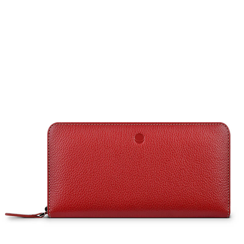 Husa piele Huawei, Samsung Galaxy, iPhone Frances Wallet Universal red