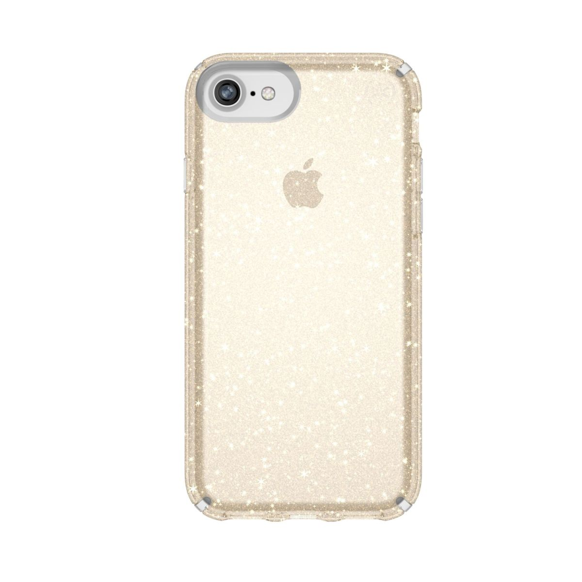 Carcasa iPhone 8, 7, 6s, 6 Presidio Clear + Glitter
