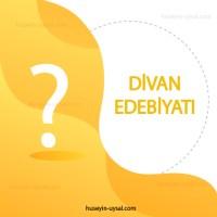 Divan Edebiyatı Çıkmış Sorular (2010-2019)