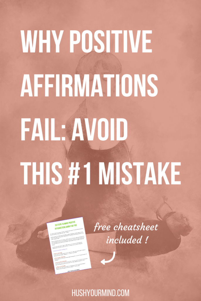 Why do positive affirmations sometimes feel like lies? Find out why positive affirmations may not work for you and what to do instead.