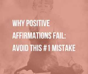 Why Positive Affirmations Fail: Avoid This #1 Mistake   Why do positive affirmations sometimes feel like lies? Find out why positive affirmations may not work for you and what to do instead.
