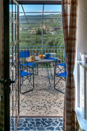 morning dip-mediterranean-rent-team unit-cardamyli-beach CHK2005 33