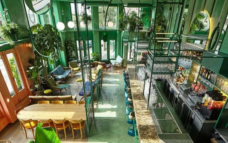 greenery couleur de l'année 2017 bar botanique studio modijejsky huskdesignblog