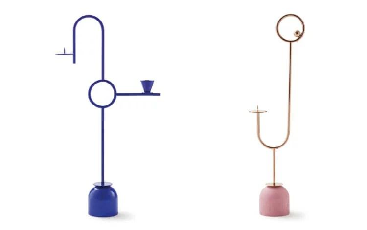 design chandelier paris-memphis maison dada