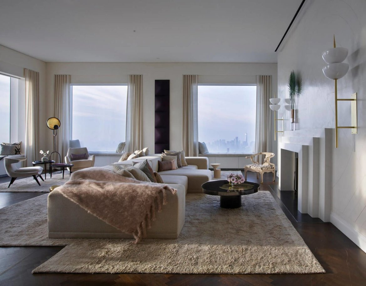 Maison Du Monde Terrazzo new york: the world's tallest penthouse, by kelly behun