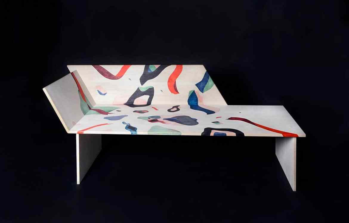 Salomnika Daybed by Vera Panichewskaja, curated by huskdesignblog.com