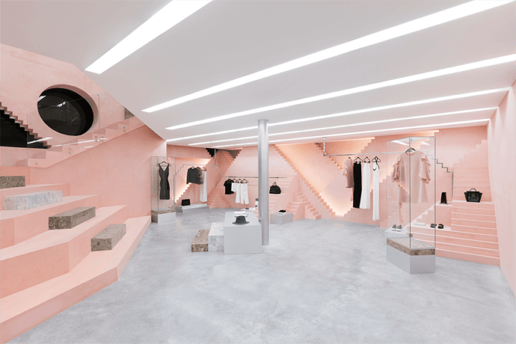 The rose in retail-novelty store by Anagrama, New York