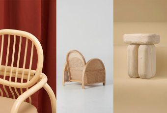 DESIGN: Wood is displayed in 3 new chairs