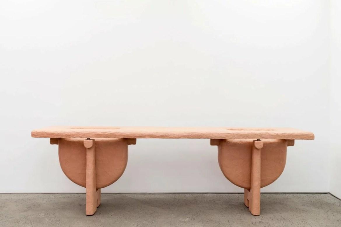 DesignMiami/ Basel 2017, Chamber nyc, Carl Emil Jacobsen, Powder table