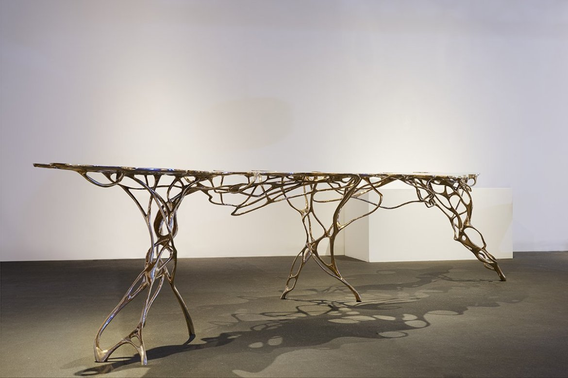 DesignMiami/Basel 2017, Galerie Maria Wettergren, Large Growth Table