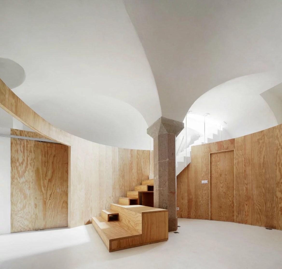 Architecture d'intérieur, le style Homme des Cavernes, RAS Arquitectura, Apartment Tibbaut