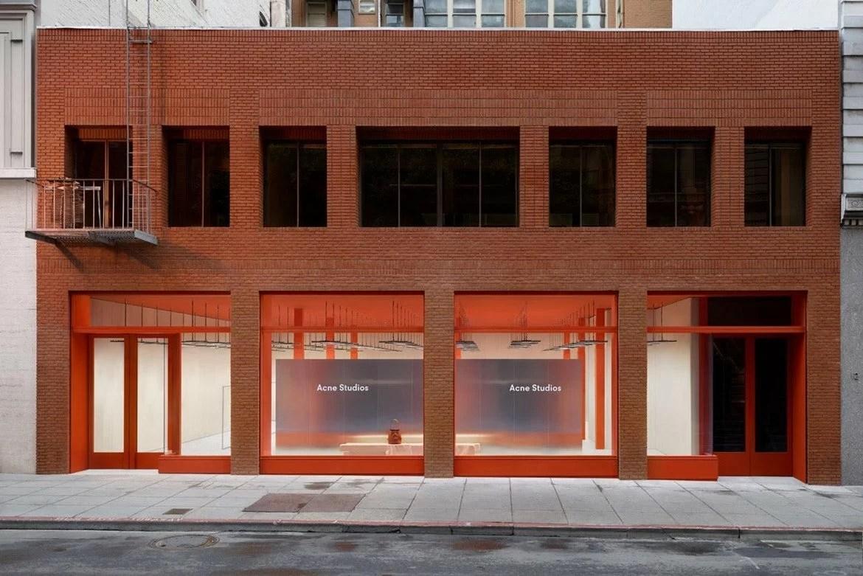Acne Studios, San Francisco flagship