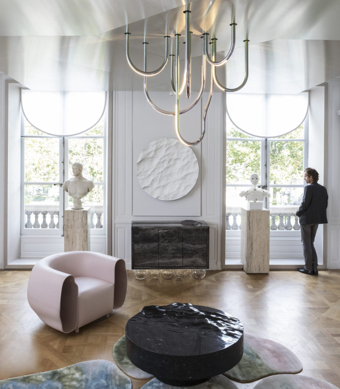 Paris Design Week, AD Intérieurs 2017, Mathieu Lehanneur, The marble room