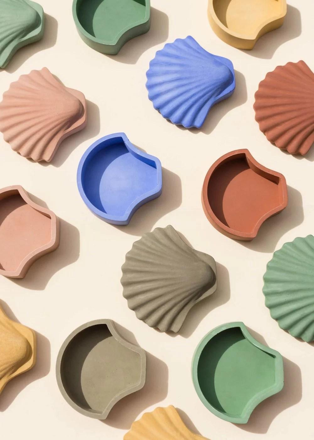 Los Objetos Decorativos, shell boxes