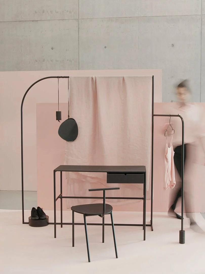 Repenser l'intérieur, ILES furniture project par Kamila Potocka, Karolina Koryniowska, et Maja Górowska