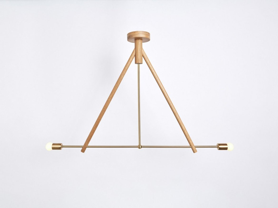 Workstead, Candlestick Two, Natural
