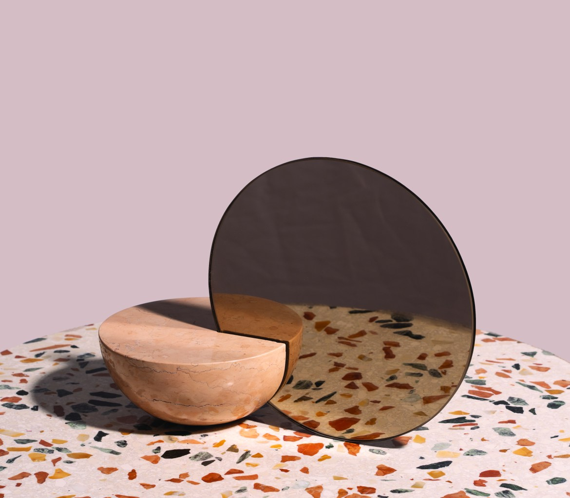 On the occasion of Maison & Objet 2019, Design brand Mondo Marmo has presented a new mirrors and vases collection designed by Charlotte Taylor.