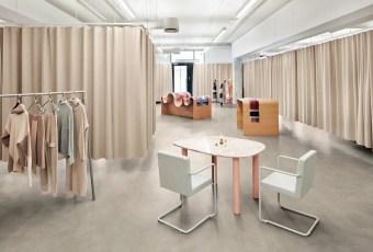 Snøhetta crée une expérience retail complète pour Holzweiler