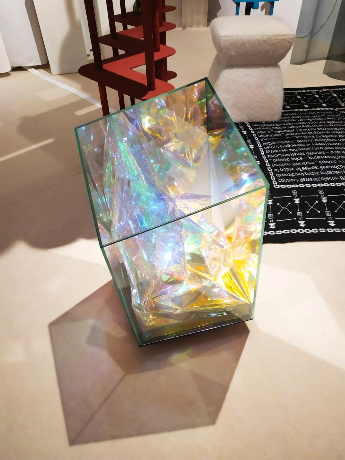 Jean-Baptiste Durand et Virginie Willerval, luminaire Larry à Art Elysées