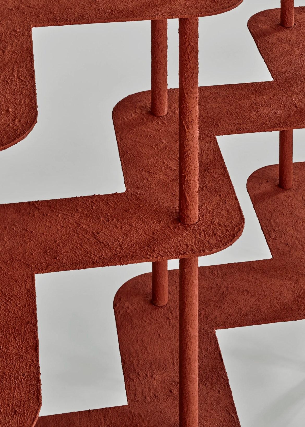 Screen Shelf, par Wendy Andreu, lors de l'évènement Art Elysées pour Huskdesignblog