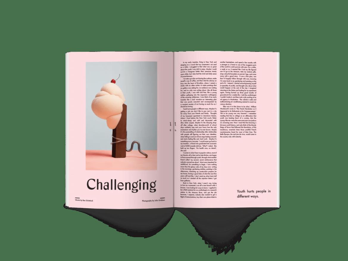 Sindroms magazine Pink, 2019