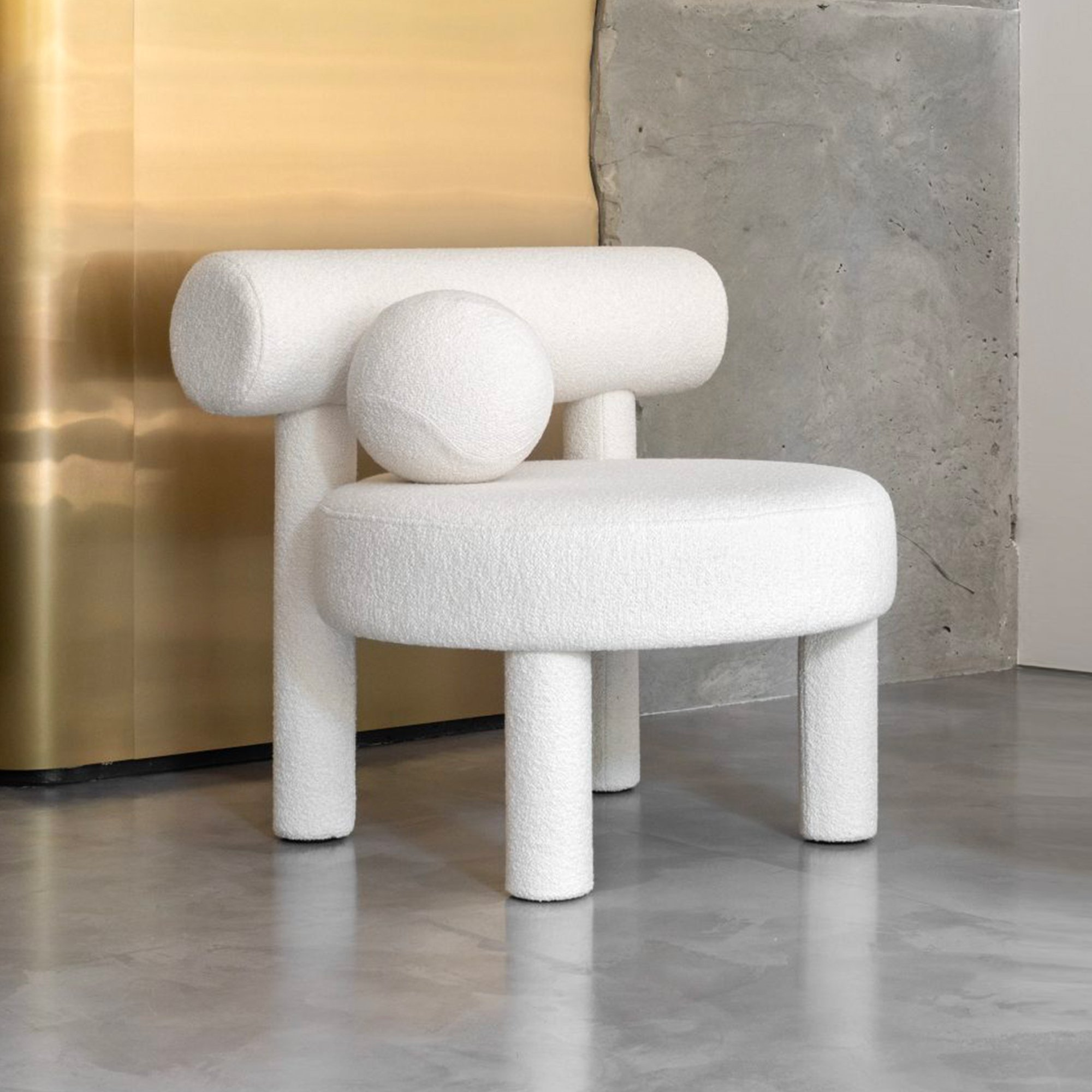 Gropius Low Chair, Bouclé