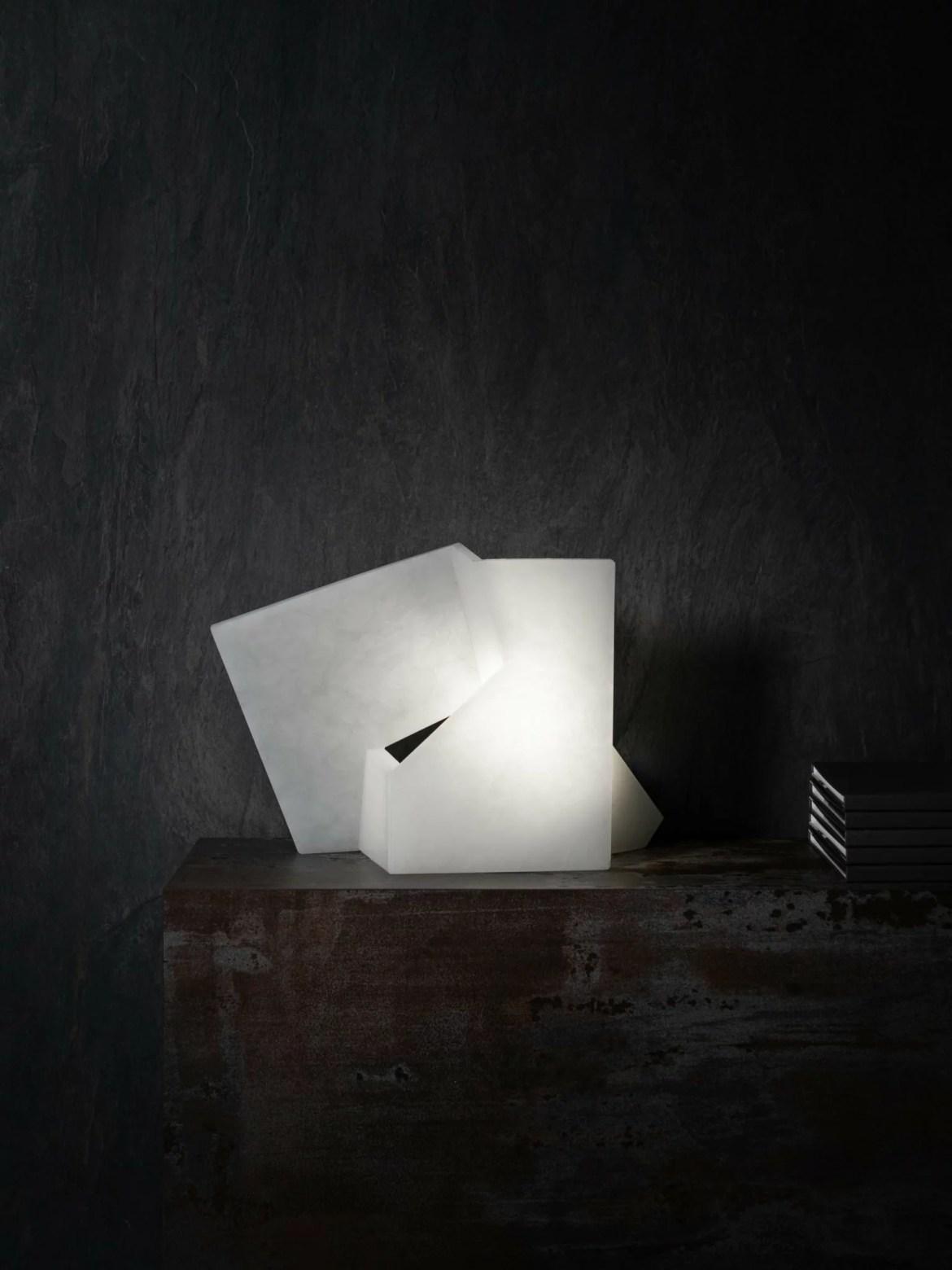Maison et Objet 2020, Techxture, white marble lamp