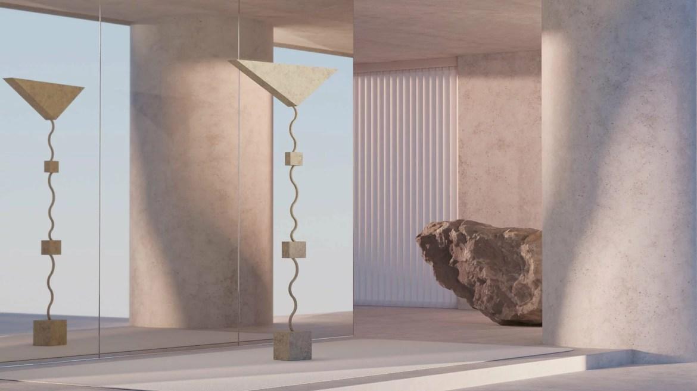 Imagined, for uncertain times, exposition virtuelle créé par soft-geometry, Argot Studio designers