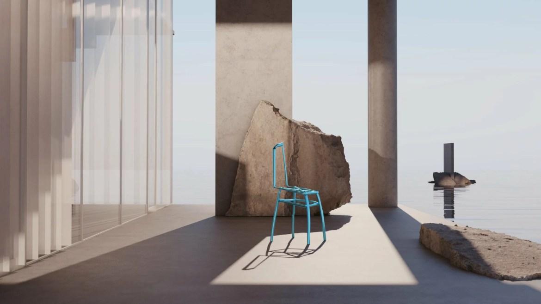 Imagined, for uncertain times, exposition virtuelle créé par soft-geometry, Hang Jin designer