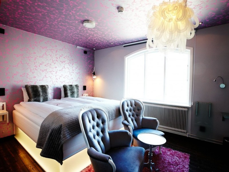 Rosa rummet
