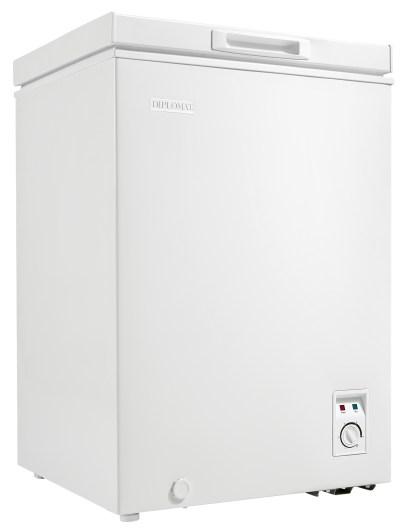DCFM036C1WM_Right 3.5 cu.ft Chest Freezer – White Apartment size, mini chest freezer