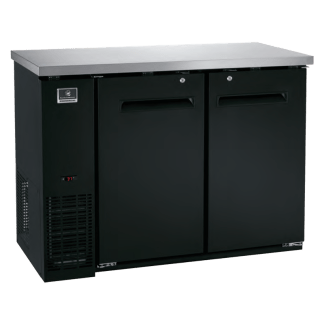 "KCBB48SB-738045 48"" Solid Door - Back Bar Cooler - Refrigerator"