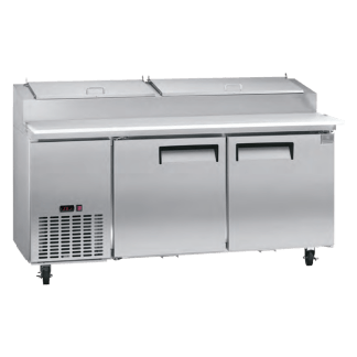 Kelvinator 72 inch 16 cu. ft. Pizza prep table KCPT72.9-738014