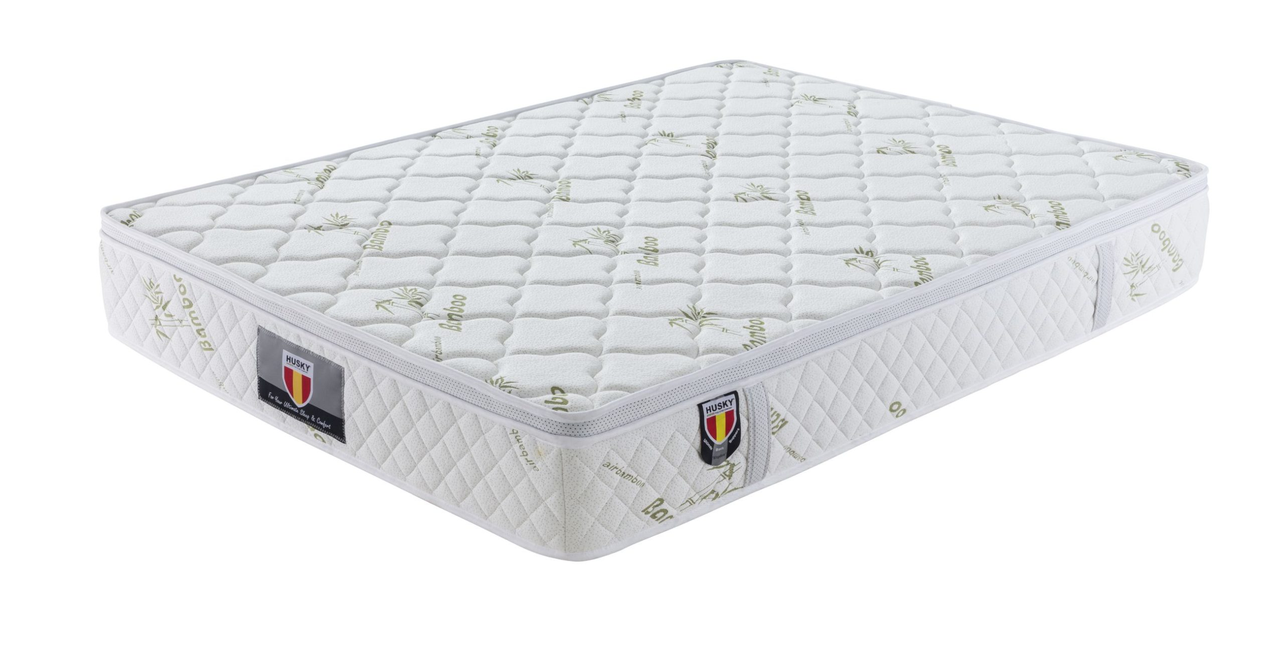 kingdom hd pocket springs11 bamboo cover euro pillow top king mattress