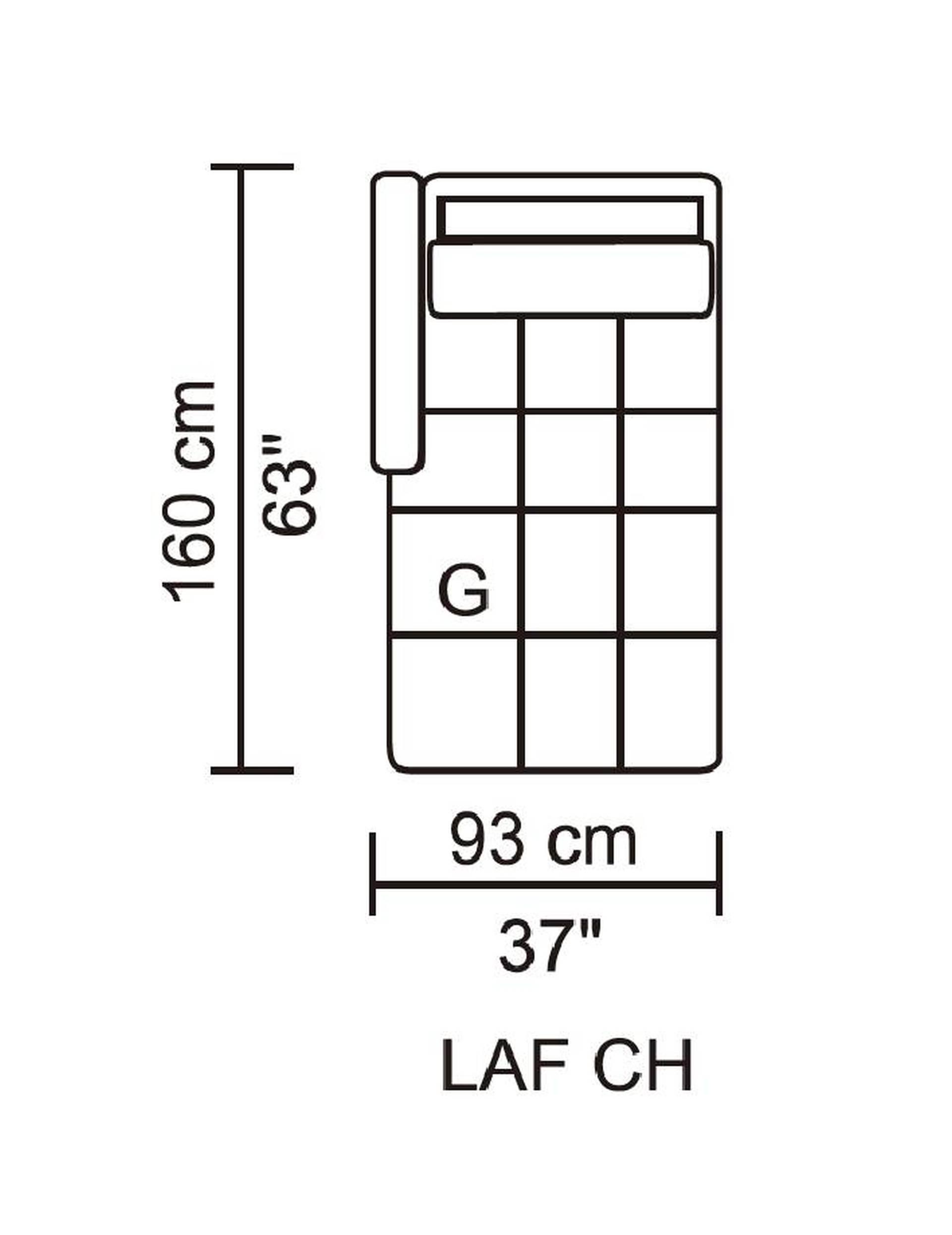Leggo Sectional Lhf Chaise