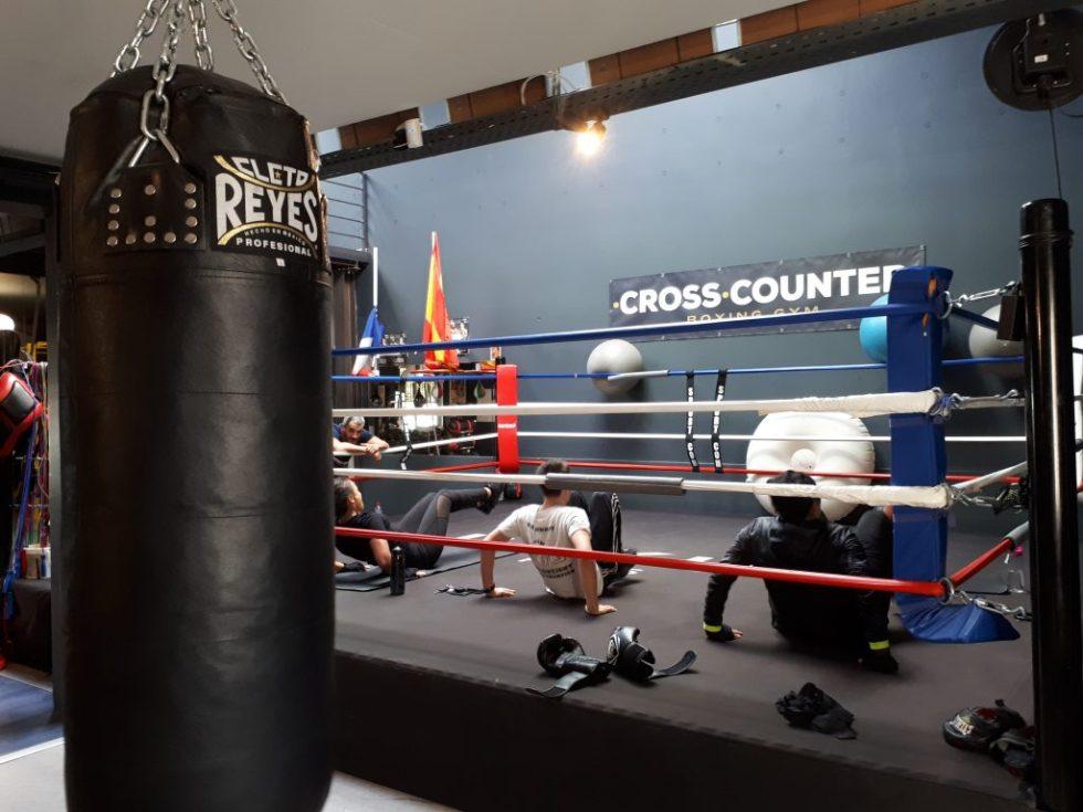 Cross COunter, boxe, Villeurbanne
