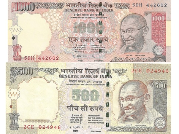 P.M Narendra Modi banned ₹500 and ₹1000 notes in India