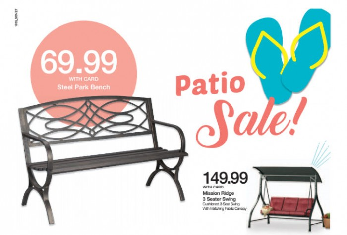 kroger patio furniture ad