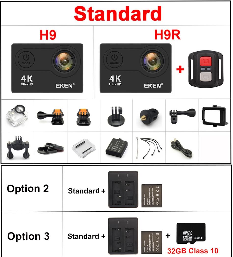 Ultra HD 4K / 30 Fps Waterproof Action Camera