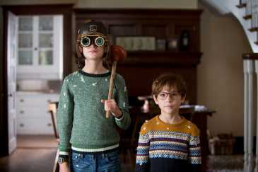 Jaeden Lieberher and Jacob Tremblay star in THE BOOK OF HENRY.