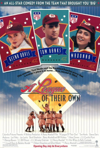 July 1, 1992: A LEAGUE OF THEIR OWN - $107.5 million total box office gross