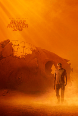 Harrison Ford One Sheet Poster for BLADE RUNNER 2049.