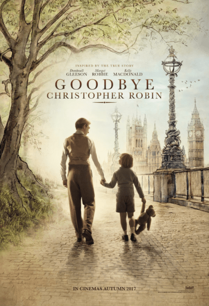 GOODBYE CHRISTOPHER ROBIN One Sheet Poster.